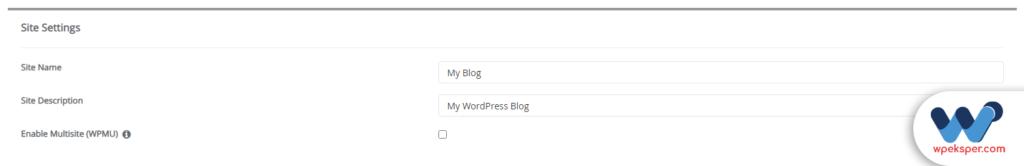 cpanel ile otomatik wordpress kurmak - adım 4